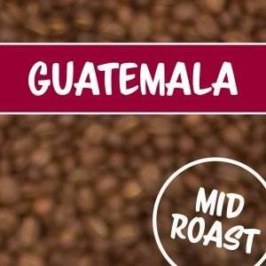 Bohnen mit Guatemalaschriftzug