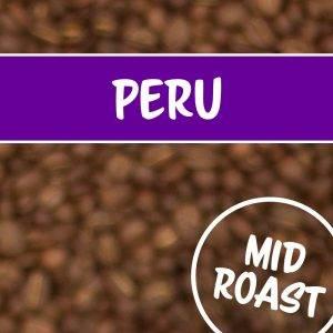 Peru in mittlerer Röstung