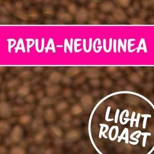 Kaffeebohnen Farbe Papua