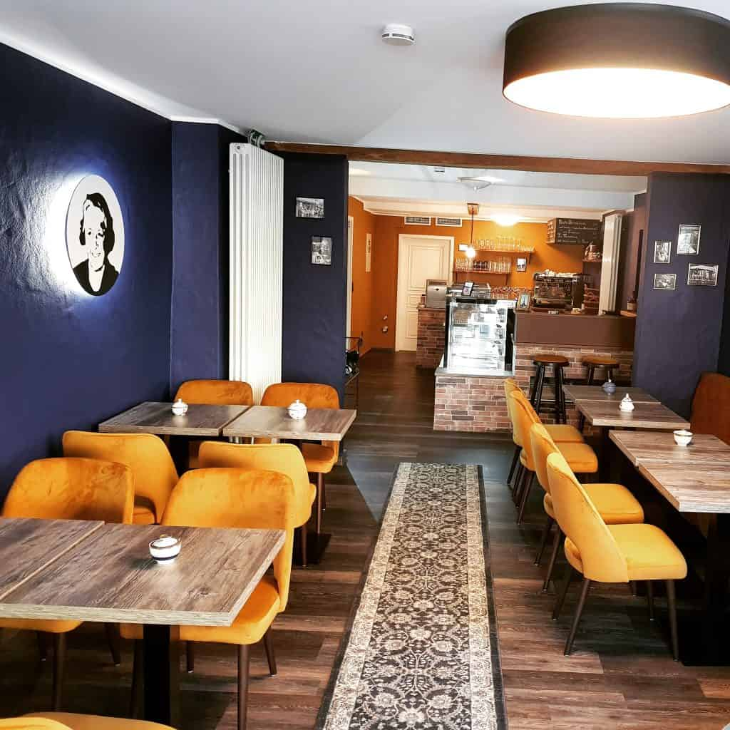 Innenraum Cafe Hilde