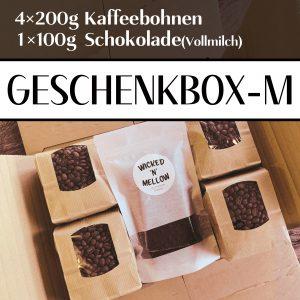 Box M label