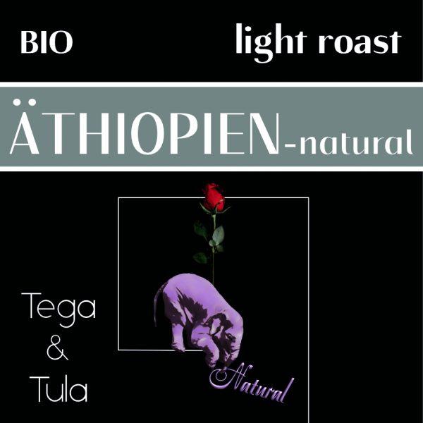 Label Ethiopien Natural