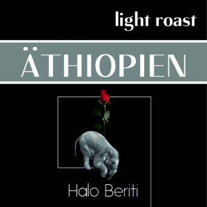 Äthiopien Label Elefant Rose