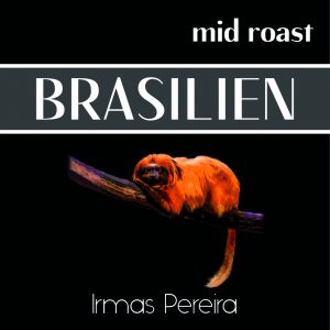 Brasilien Label mit Affe